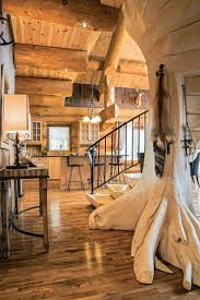 rustic home style ideas with log cabin interior designs remarkable log cabin interior designs for