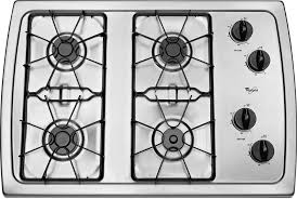 best 30 gas cooktop. Modren Best Whirlpool W3CG3014XS 30 Inch Gas Cooktop With 4 Sealed Burners AccuSimmer  Burner Enamel Steel Grates Knob Controls And ADA Compliant Stainless Inside Best O