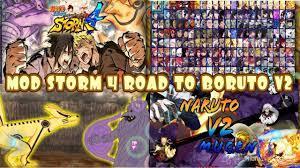 BLEACH VS NARUTO MOD Naruto Shippuden Storm 4 Road to BORUTO V2 MUGEN AN...  | Naruto, Naruto games, Naruto mugen