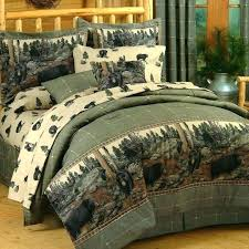 camping themed bedding lodge camping themed bedding sets u32194