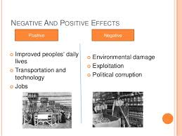 history powerpoint presentation on how living and working condition e  negative and positive effects