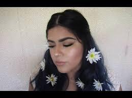 lana del rey love inspired hair makeup tutorial renee horror