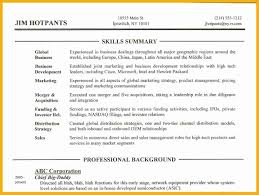 Related For 9+ what to put in the summary part of a resume