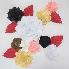 diy giant paper flowers wedding backdrop half made flowers kits party bridal shower baby nursery xmas with tutorial canada 2019 from diyunicornflowers