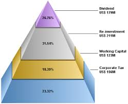 Investment Pyramid Chart Chartdirector Chart Gallery Pyramid Charts
