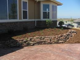 Small Picture Broomfield Colorado Moss Rock Wall with Perennials Glacier View