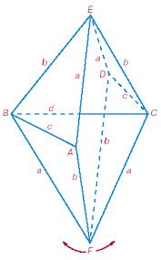 Реферат Изгибаемые многогранники Октаэдр Брикара Флексор  Построение модели Для построения модели флексора Штеффена необходимо изготовить из картона две многогранных поверхности Р1 и Р2 изображенных на рисунке 22