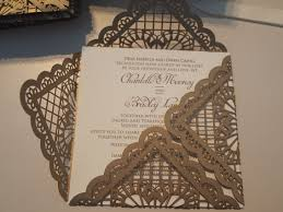 Baroque Wedding Invitations Laser Cut Wedding Invitations With Baroque And Lace