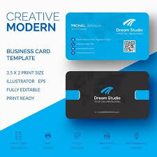 Office Visiting Card Business Card Template Design Vector Creative Modern Abstract