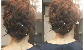 結婚式や二次会など多くなる秋に可愛いヘアアレンジアヴァンティ