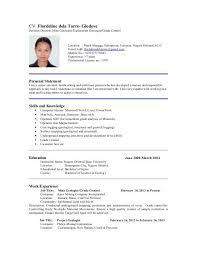 Position Desired Resume