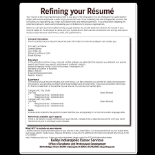 Build Your Rsum: Create Your Career Path: Student & Alumni Services:  Career Services: Recruiters & Companies: Kelley School of Business: Indiana  ...