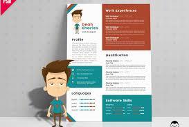 Graphic Designer Resume Template Free Design Cv Download Sample Word ...