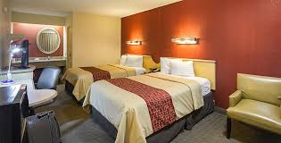 red roof inn indianapolis north college park double bed room