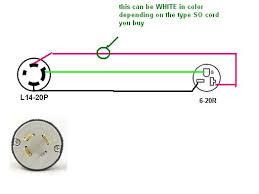 how do i wire a 6 20r receptacle to a l14 20p plug ar15 com mr dpeacher