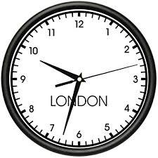 wall clock for office. Fine Wall LONDON TIME Wall Clock World Time Zone Clock Office Business Inside For Office O