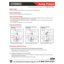 everbilt 1 2 hp submersible sump pump sp05002vd the home depot