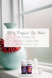 diy organic essential oils lip balm essential without beeswax or vaseline free