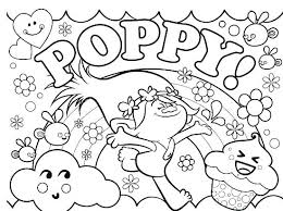 Troll Doll Coloring Page At Getdrawingscom Free For Personal Use