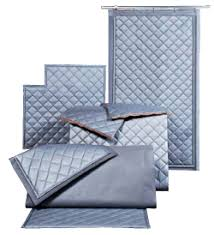 Quilted Curtains for Soundproofing and Noise Control | Industrial ... & Quilted Curtains for Soundproofing and Noise Control Adamdwight.com