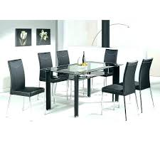 black glass dining table black dining table 4 chairs dining table and chairs for in