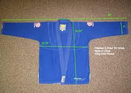 Flow Kimonos Size Chart Flow Kimonos Bjj Legends Magazine