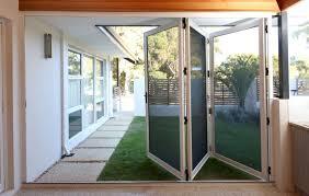 folding patio doors insect screen
