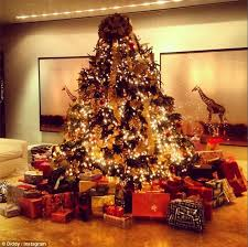 Someone made the good list: Diddy's Christmas tree was an incredible sight  with its extensive