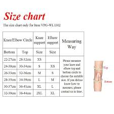 Elbow Sleeve Size Chart Us 35 9 Vigor Power Gear Dual Ply Elbow Sleeves 5mm Knee Sleeves For Weight Lifting Dual Ply Elbow Sleeves For Strength Crossfit In Elbow Knee