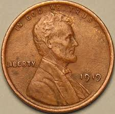 1919 Wheat Penny Weed Size Chart