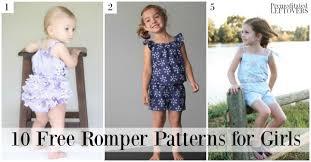Toddler Romper Pattern