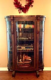curved glass china cabinets curved glass china cabinet antique china cabinets for cabinet hardware oak curved glass china cabinets
