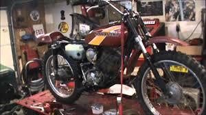 1976 kawasaki ke100 back up and running