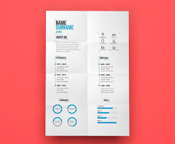Cool Resume Templates Free Fascinating 48 Free Creative Resume Templates With Cover Letter Freebies