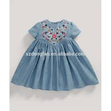 Latest Baby Frock Design 2016 Baby Shops 2016 Spring Summer Denim Baby Dress 2 10years Old Kid Clothes New Latest Children Dress Designs Buy Frock Design For Baby Girl Baby