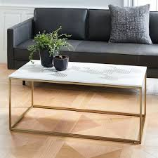 graphic marble inlay coffee table