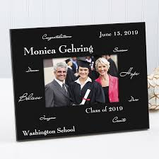 personalized graduation photo frame words to inspire 3781
