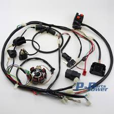 popular atv wiring harness buy cheap atv wiring harness lots from What Is A Wiring Harness buggy wiring harness loom gy6 engine 150cc quad atv electric start stator 8 coil go kart what is a wiring harness