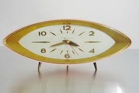 mid century modern clock style  all modern home designs