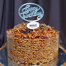 Indomie Money Cake Everylove At Nocakeid Instagram Profile Picdeer