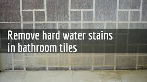 seemly what removes hard water stains from glass shower doors how to remove water stain from