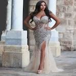 Elegant prom dresses plus size 2017