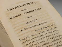 the story behind frankenstein or the modern prometheus rare books experts at bauman rare books