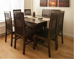 great dark wood square table contemporary teak dining tables dark dining table with light chairs
