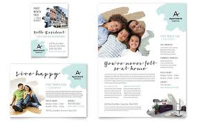 Apartment Flyer Ad Template Design
