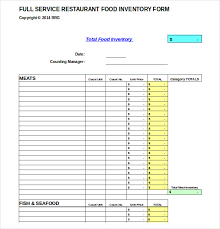 15 Product Inventory Templates Free Sample Example Format
