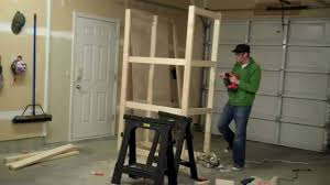 how to build a garage cabinet in under 2 minutes