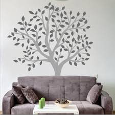 large tree wall decal living room on large wall art stickers uk with large tree wall decal wallboss wall stickers wall art stickers