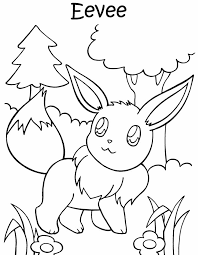 Small Picture An Eevee colouring page Must print this later D Eevee