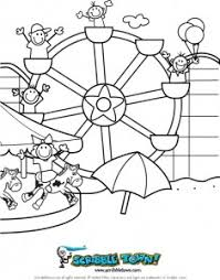 beach ferris wheel cedar point coloring page 235x300 scribble blog inspiring creativity coloring page on scribbles coloring book